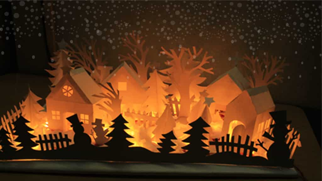 DIY-Christmas-Paper-Village-16